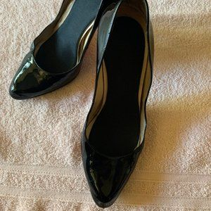 "Christian Louboutin Shoes - Christian Louboutine Black Patent 4"" heels"